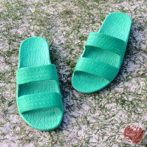 4daa0311c79cb6 Pali Hawaii Jandals - Green Boutique