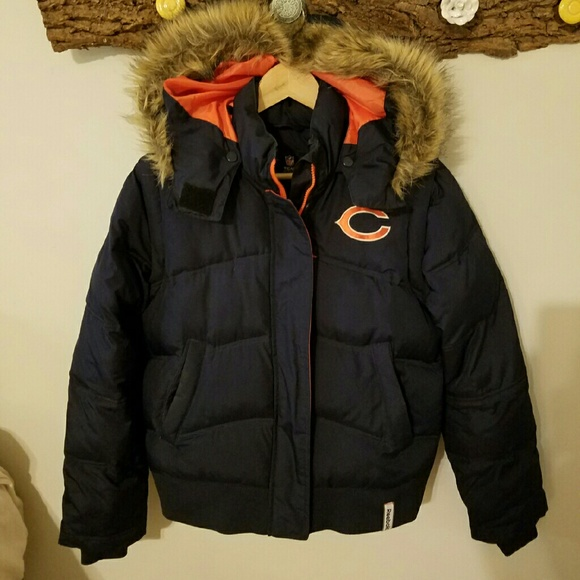 Clothing, Shoes & Accessories Chicago Bears Winter Jacket Activewear