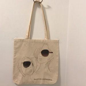 Barton Perreira Handbags - Barton Perreira canvas tote shopper