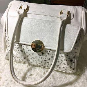 Lulu Handbags - White Shoulder Bag