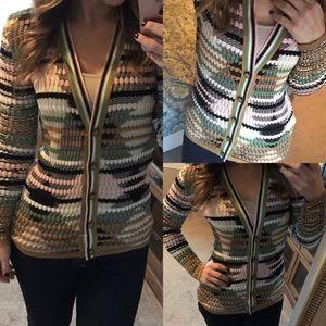 M missoni cardigan striped chevron pattern 10