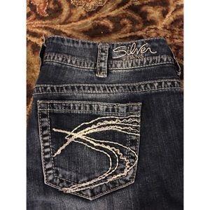 "82% off Silver Jeans Denim - Silver jeans, ""Natsuki Capri"", size ..."