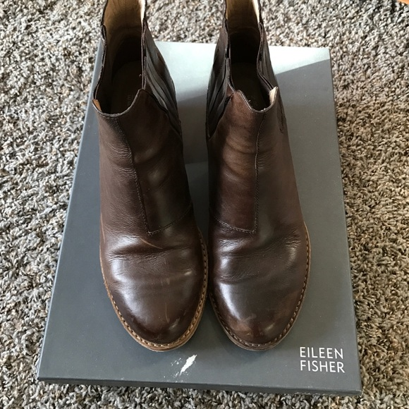 Eileen Fisher Flat Bootie IxGja22ccw
