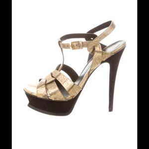Yves Saint Laurent Shoes - Yves Saint Laurent Tribute Sandal