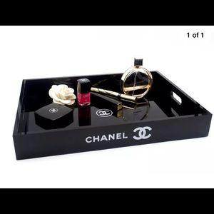 CHANEL Other - Chanel Vipgift Acrylic tray + Chanel headband