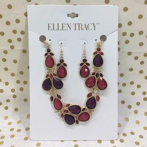 Ellen Tracy Jewelry - Ellen Tracy Necklace and Earrings Set