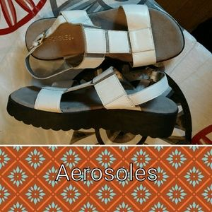 AEROSOLES Shoes - Aerosoles sz nine leather sandals