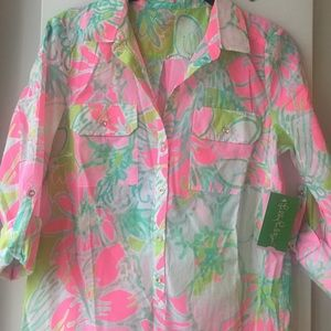 Lilly Pulitzer NWT captiva tunic