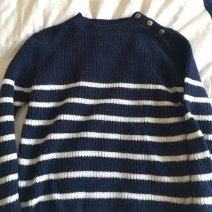 Zara nautical striped sweater