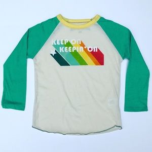Rowdy Sprout Other - Keep On Keepin' On Raglan Tee