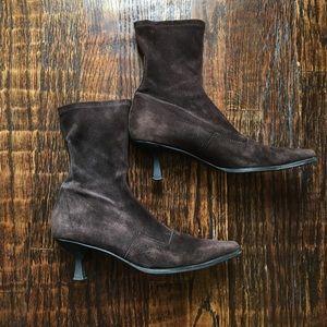 Brown Leather Stuart Weitzman