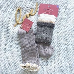 Romantic Boot Cuff & Sock Bundle