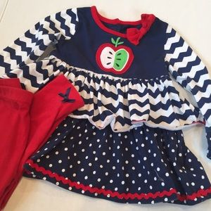Nannette Other - Baby Girl set of matching dress and leggings