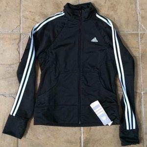 Adidas Black Glacier Zip Up Jacket