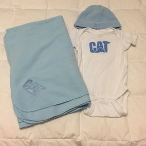 Caterpillar Other - Caterpillar baby set 6 month