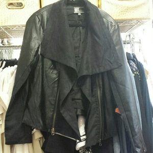 FINAL PRICE. ....KUT....FAUX leather jacket