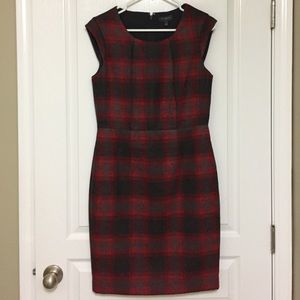 plaid sheath dress from The Limited
