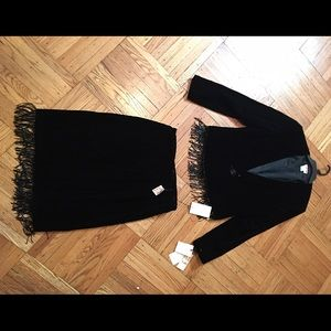 NWT Velvet beaded skirt set! Gorgeous!