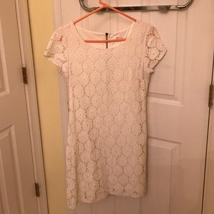Off White Xhilaration Lace Dress