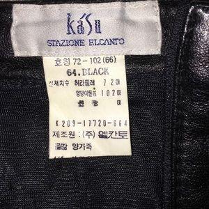 e7beb6f82533 Stazione Elcanto Skirts - Black 4 Panel Skirt by Stazione Elcanto