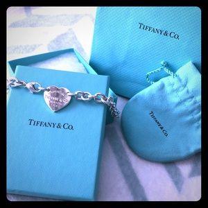 Tiffany & Co. Jewelry - Return to Tiffany Heart Tag Choker