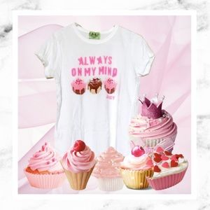 Juicy Couture Tops - Juicy Couture Cupcake Lovers Tee