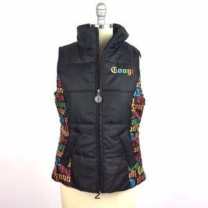 COOGI Jackets & Blazers - Coogi Sleeveless Puffer Vest, M