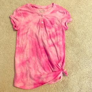 Justice Other - Pink tye dye Justice shirt size 8