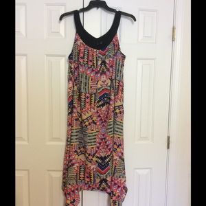 New Directions Aztec Paterron Dress