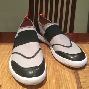 Landsend men's water shoes. Slightly worn