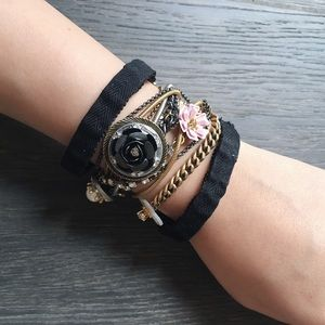 🆕 Juicy couture punk layered bracelet