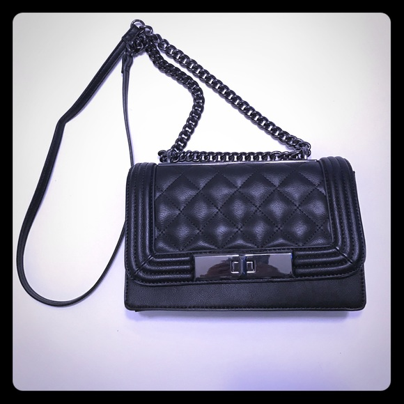 c305408d7da Aldo Handbags - ALDO Derogali Crossboy Bag NWOT Black Purse Clutch