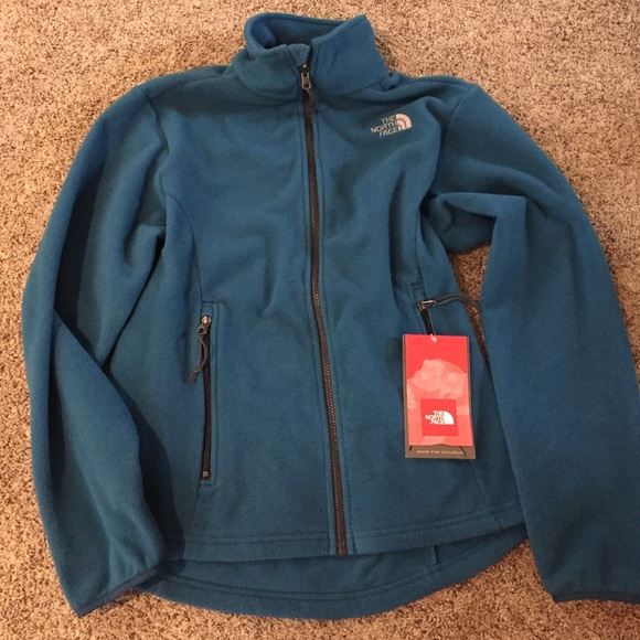 65dd797ff9 New Egyptian Blue North Face Zip-up Jacket