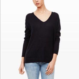Club Monaco Sweaters - Club Monaco Black Cashmere Vneck Sweater