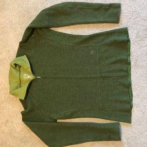 Mountain Hard Wear Sweaters - Mountain Hard Wear Wool sweater/jacket; W's M