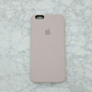 apple Accessories - IPhone 6 plus silicone case - pink sand