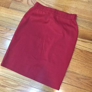 Red Skirt Sz S/M