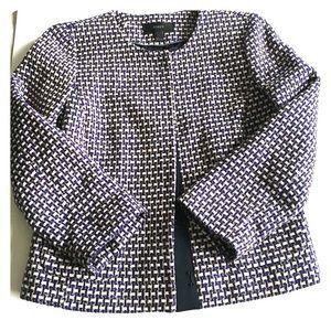J. Crew Jackets & Blazers - Jcrew Purple Metallic Slim Fit Long Sleeve Jacket