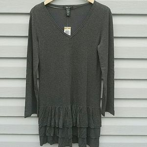 Style & Co Dresses & Skirts - NWT Style & Co long tunic or dress with ruffles
