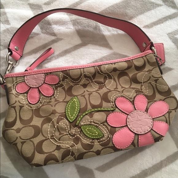 Coach Bags Flower Purse Handbag Perfect Condition Poshmark