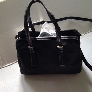 Coach Mercer Twill & Leather Satchel Bag L1K-7436