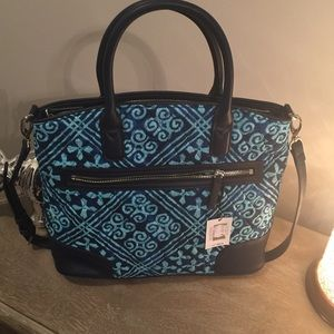 Day Off Satchel, Cuban Tiles Vera Bradley