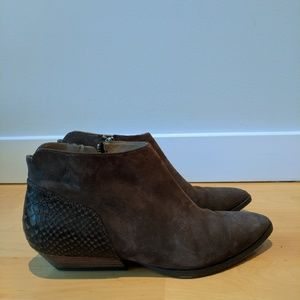 Sigerson Morrison booties nubuck leather