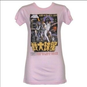 Junk Food Clothing Tops - Vintage Style Japanese Star Wars Shirt