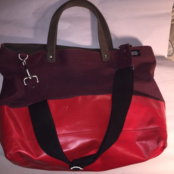6500ad6df Jack Spade Bags   Wax Wear Dipped Canvas Coal Tote   Poshmark