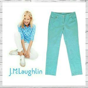 J. McLaughlin Denim - J. McLaughlin Ankle Jean Sz 2