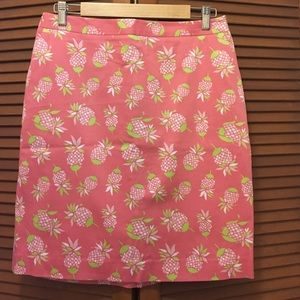 Brooks Brothers Dresses & Skirts - Brooks Brothers 346 pineapple 🍍 skirt 8 pink