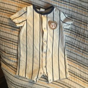 Starting Out Other - Baby Baseball onesie.
