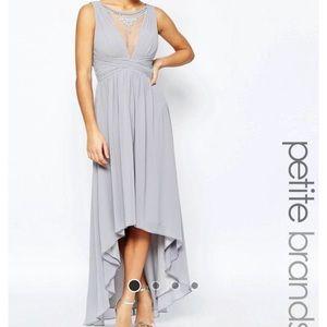 ASOS Dresses & Skirts - LITTLE MISSTRESS High-Low W Embellished neckline