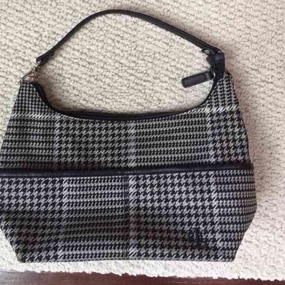 Lauren Ralph Lauren Handbags - Lauren by Ralph Lauren Houndstooth purse 656f74227b5c8